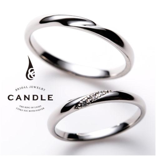 キャンドルの結婚指輪でボーティブ