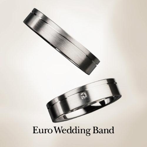 ユーロウェディングバンドの結婚指輪で27125シリーズ