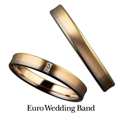 ユーロウェディングバンドの結婚指輪で27369シリーズ