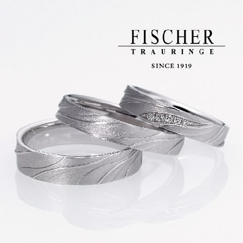 FISCHERフィッシャーの結婚指輪で287シリーズ
