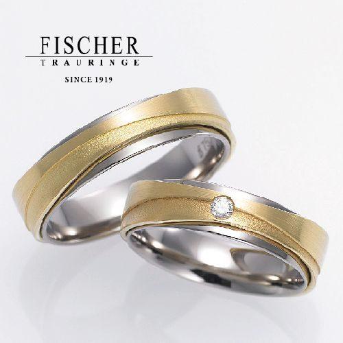 FISCHERフィッシャーの結婚指輪で253シリーズ