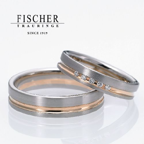 FISCHERの結婚指輪で300シリーズ