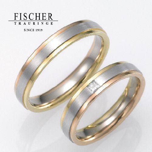 FISCHERの結婚指輪で152シリーズ