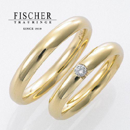 FISCHERの結婚指輪で241シリーズ