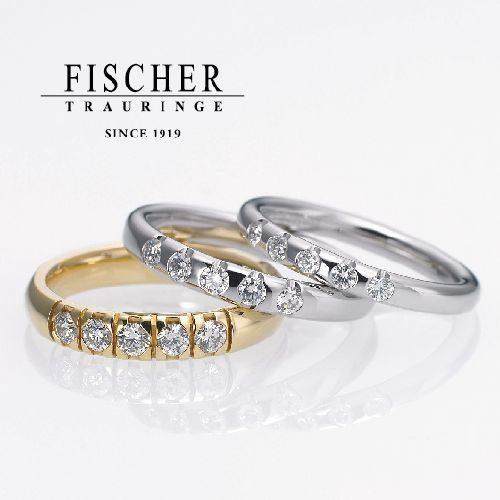 FISCHERの結婚指輪で281シリーズ