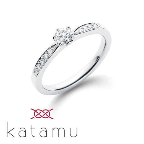 Katamuカタムの婚約指輪で千幸
