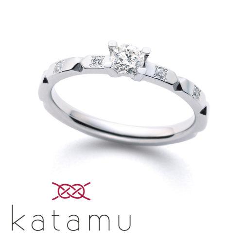 Katamuカタムの婚約指輪で折り紙