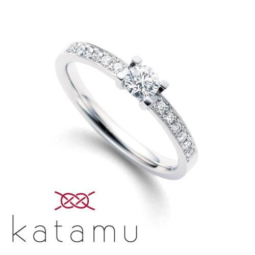 Katamuカタムの婚約指輪で八千代