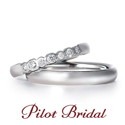 パイロットブライダルの結婚指輪でプレジャーよろこび