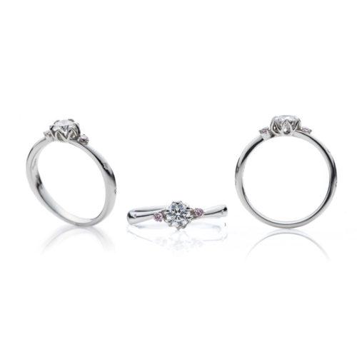 ブリッジの婚約指輪で春の足音2