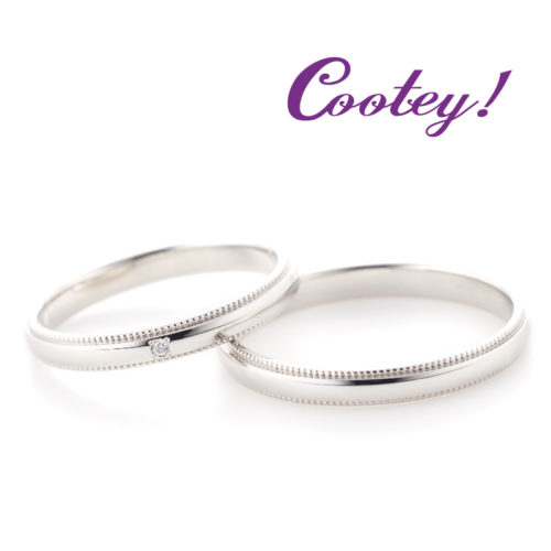クーティの結婚指輪でフアリ