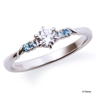 ディズニープリンセスの婚約指輪でシンデレラ
