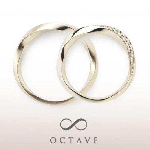 OCTAVEオクターヴの結婚指輪でリュエル