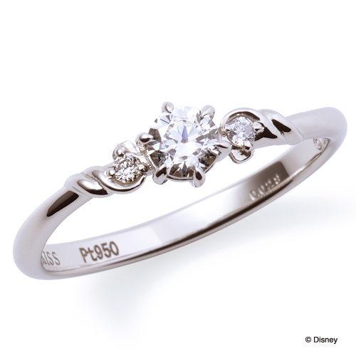 ディスニープリンセスの婚約指輪でリトルマーメイド