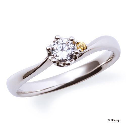 ディズニープリンセスの婚約指輪で美女と野獣