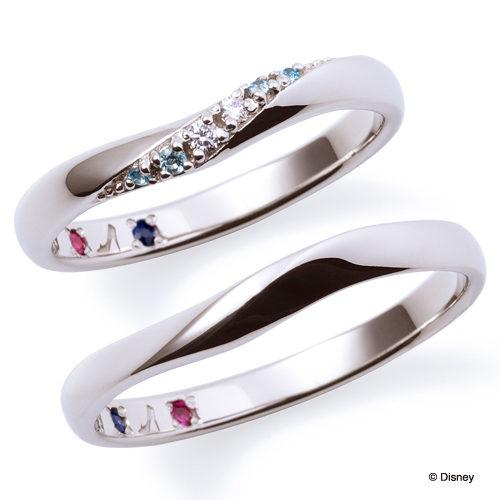 ディズニープリンセスの結婚指輪でシンデレラ