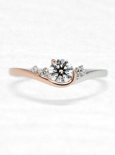 ひなの婚約指輪で星の宿上面