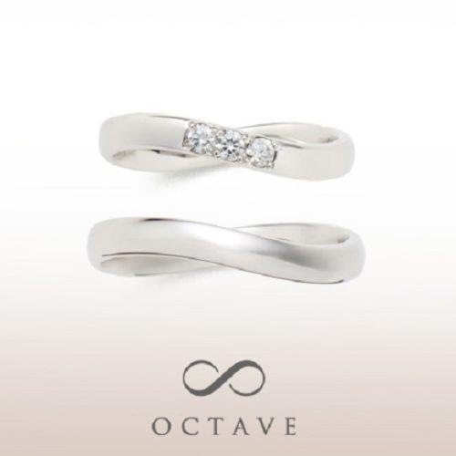 OCTAVEオクターブの結婚指輪でセルクル