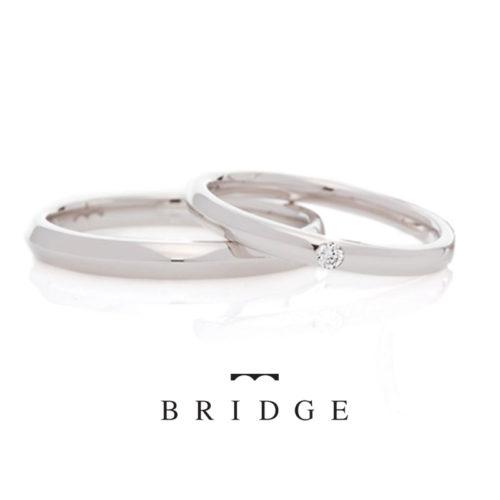 ブリッジの結婚指輪でぐるりとくるり