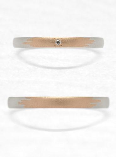 ひなの結婚指輪でかき氷の上面