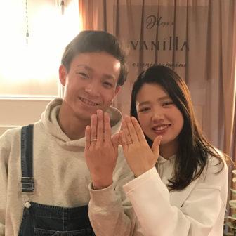 広島店 マシェリ 婚約指輪 マカナ 結婚指輪