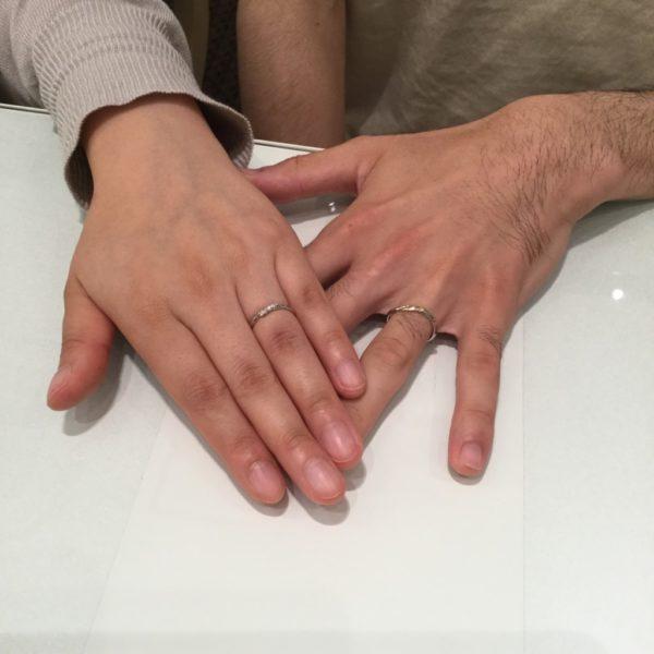 大阪府和泉市 AMOUR AMULETの結婚指輪