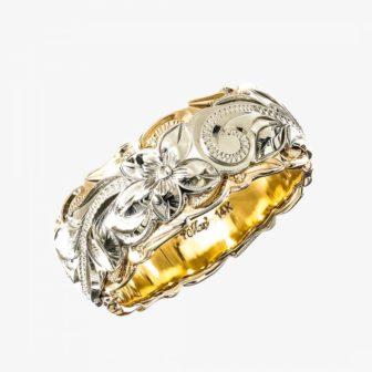 マキシの結婚指輪でツートーン
