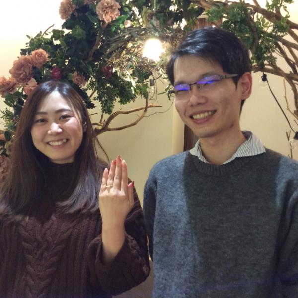 大阪市鶴見区 RosettEの婚約指輪