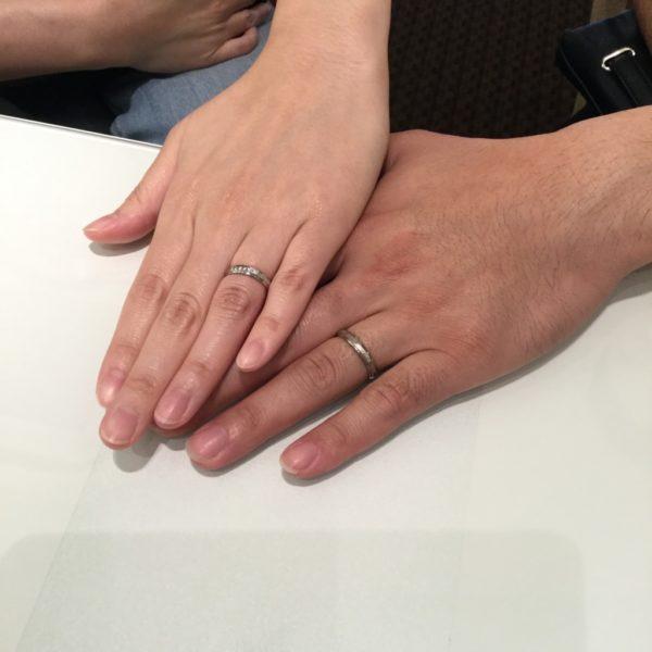 大阪府堺市 FISCHERの結婚指輪