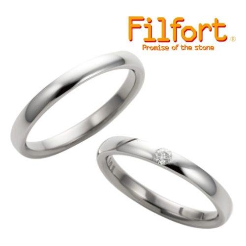 フィルフォールの結婚指輪でFT-105/106
