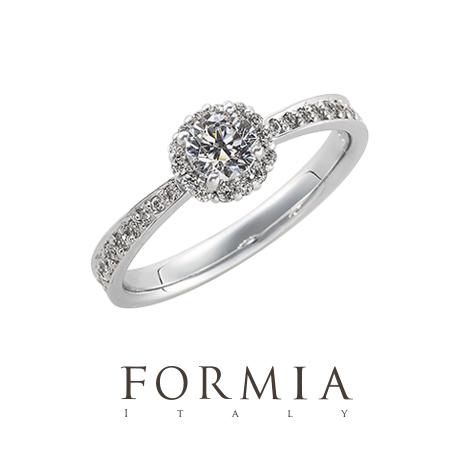 フォルミアの婚約指輪でブリラーレ