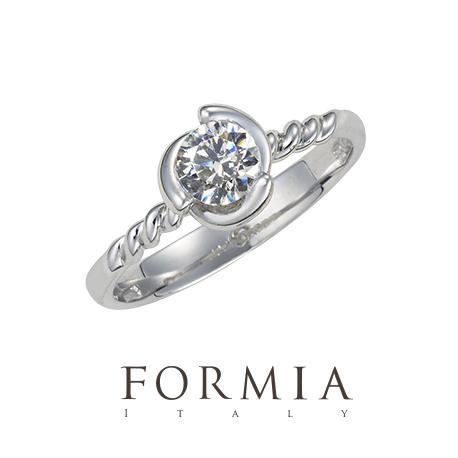 フォルミアの婚約指輪でスピラーレ
