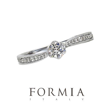 フォルミアの婚約指輪でアルモニーコ