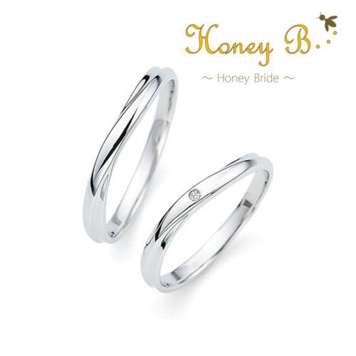 ハニーブライドの結婚指輪でアップル