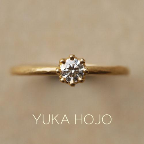 東京で人気な婚約指輪でユカホウジョウ