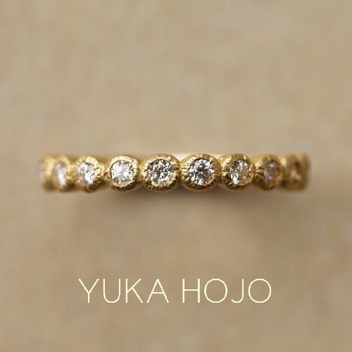 YUKAHOJOの婚約指輪でブルーム