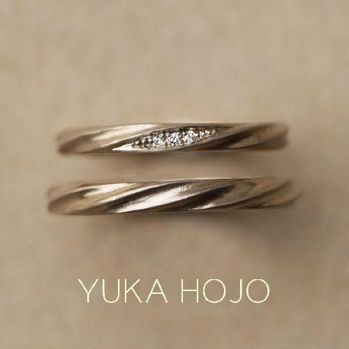 YUKAHOJOの結婚指輪でカレント