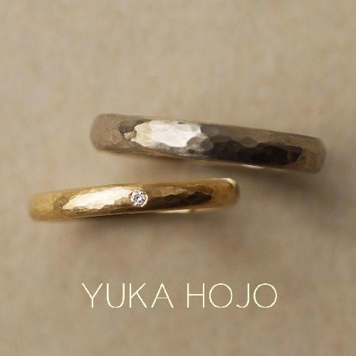 YUKAHOJOの結婚指輪でパッセージオブタイム