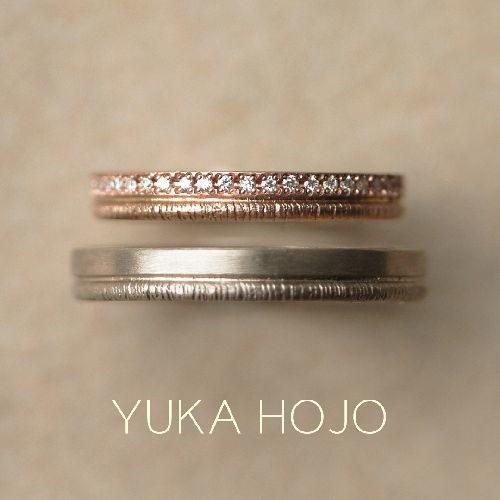 YUKAHOJOの結婚指輪でパス