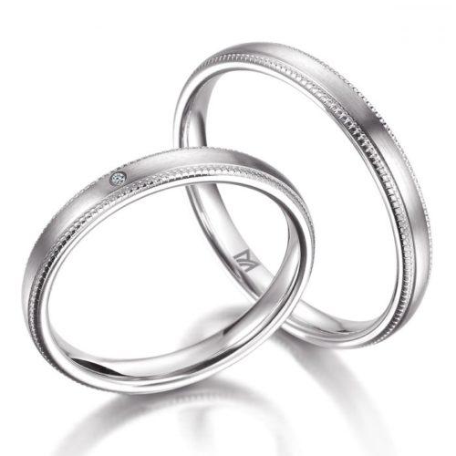 マイスターの結婚指輪で322と321シリーズ