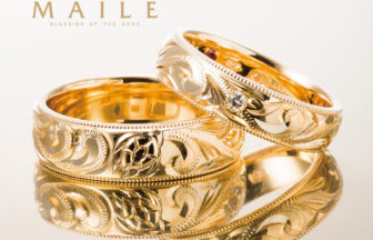 マイレの結婚指輪でバレルデザイン