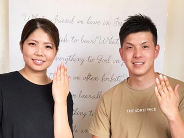 広島県福山市 et.lu(エトル)の結婚指輪 をご成約のお客様