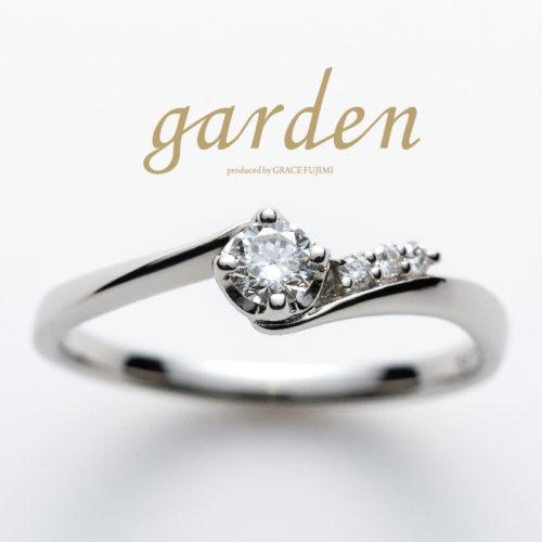 リトルガーデンの婚約指輪でカーネーション