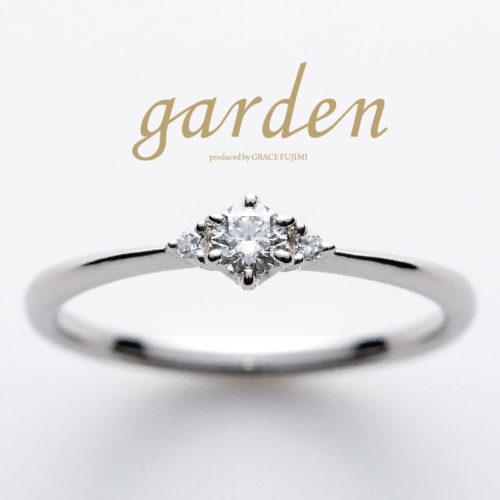 リトルガーデンの婚約指輪でホワイトリリー