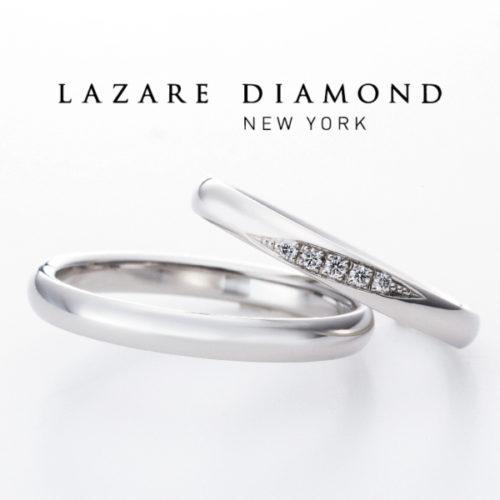 ラザールダイヤモンの結婚指輪でメテオ