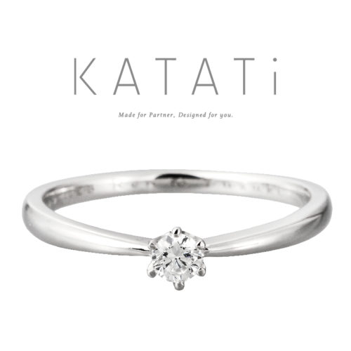 カタチの婚約指輪でMJK-10