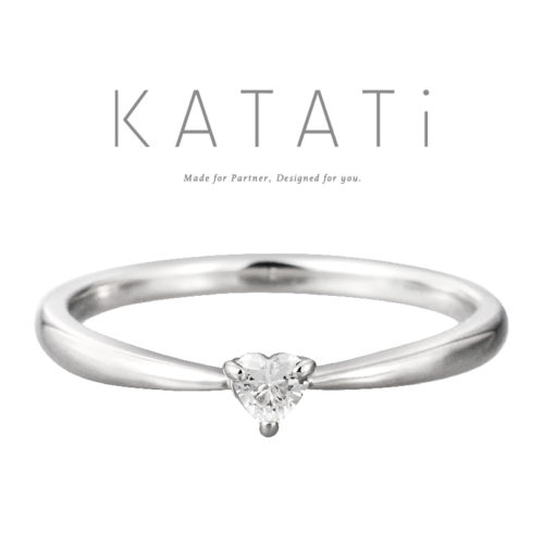 カタチの婚約指輪でMJK-18