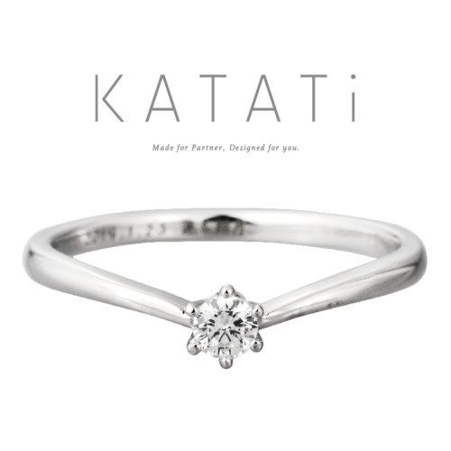 カタチの婚約指輪でMJK-2