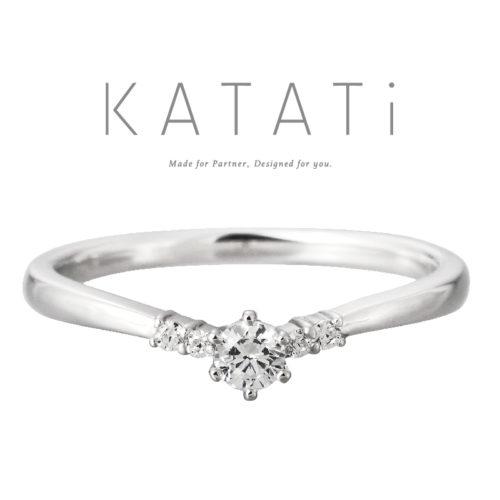 カタチの婚約指輪でMJK-3