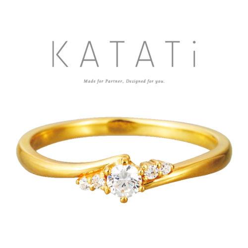 カタチの婚約指輪でMJK-7